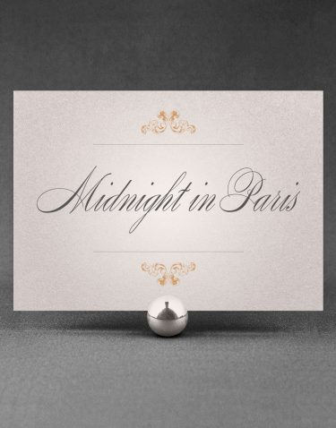 Beaumont Wedding Table Names