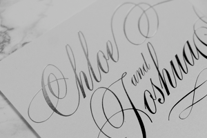 View our range of foil stamped wedding invitations at The Foil Invite Company