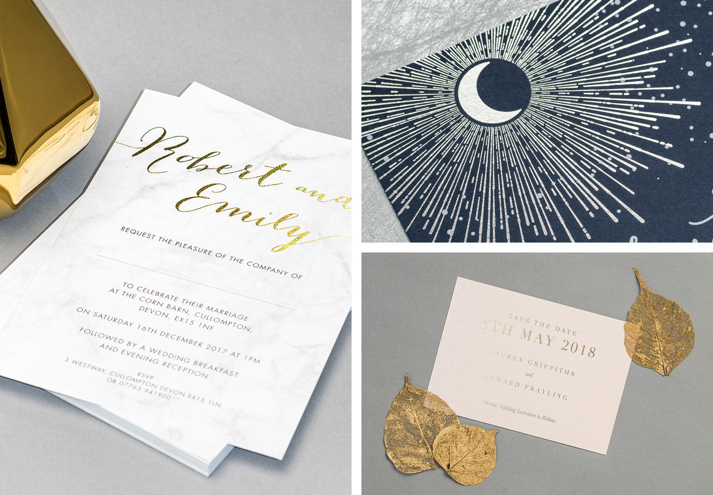 Luxury Wedding Stationery Trends 2018   The Foil Invite Company Blog
