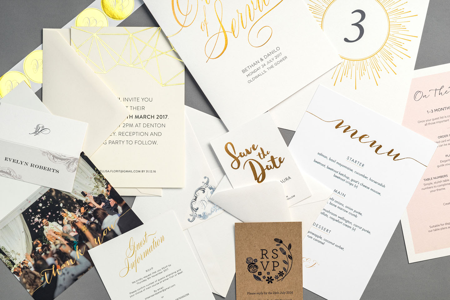 Wedding Planning Tips - To Do List - Getting Organised for 2018 Foil Invite Company Blog