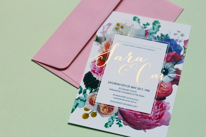 Spring Wedding Stationery Ideas with Flowers - Floral Wedding Invitations - The Foil Invite Company Blog