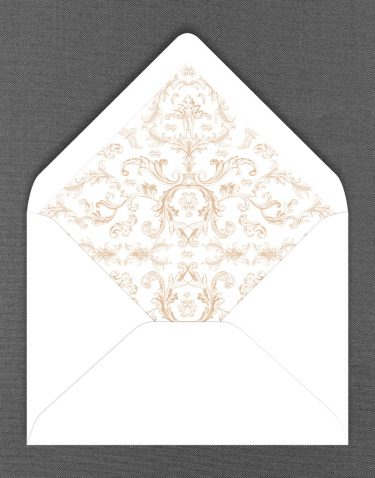 Beaumont Liner in White Envelope