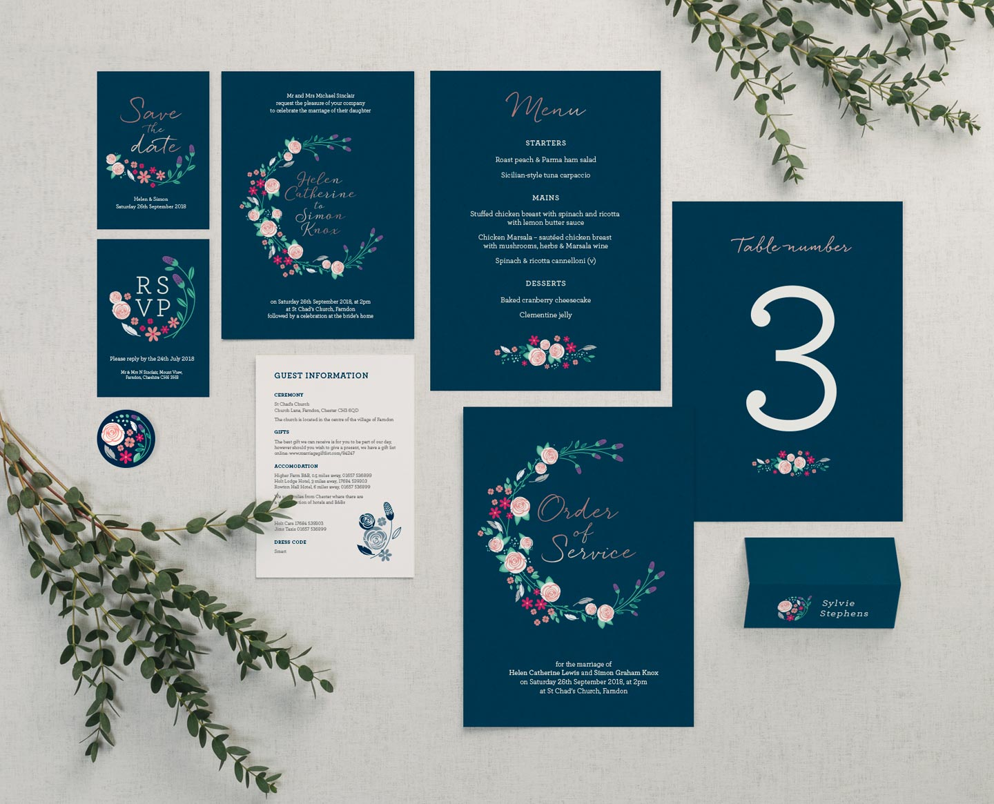 Wedding Planning Tips - Make a stationery to do list Farndon Collection - Getting Organised Blog