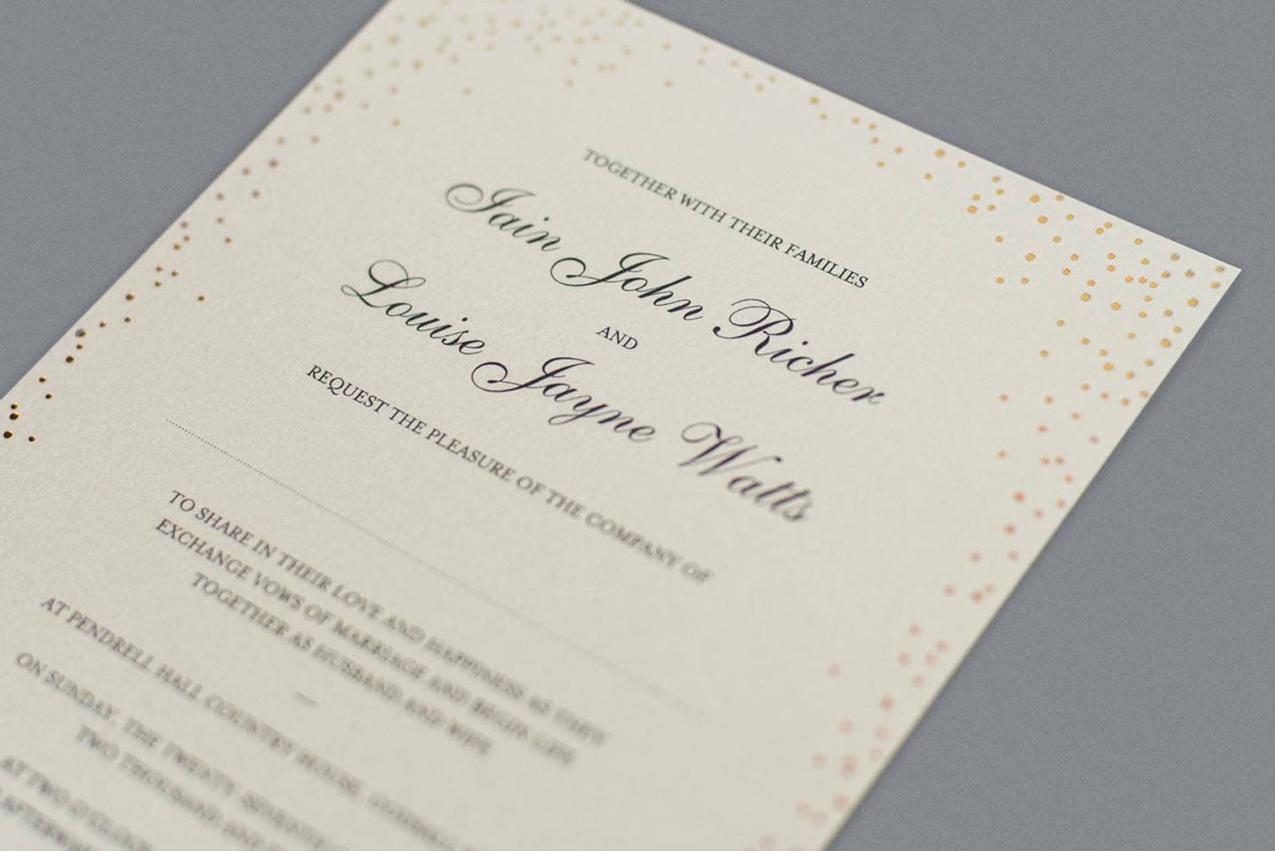 Wedding invitation wording how to get it right foil invite company wedding invitation wording foil invite company stopboris Image collections