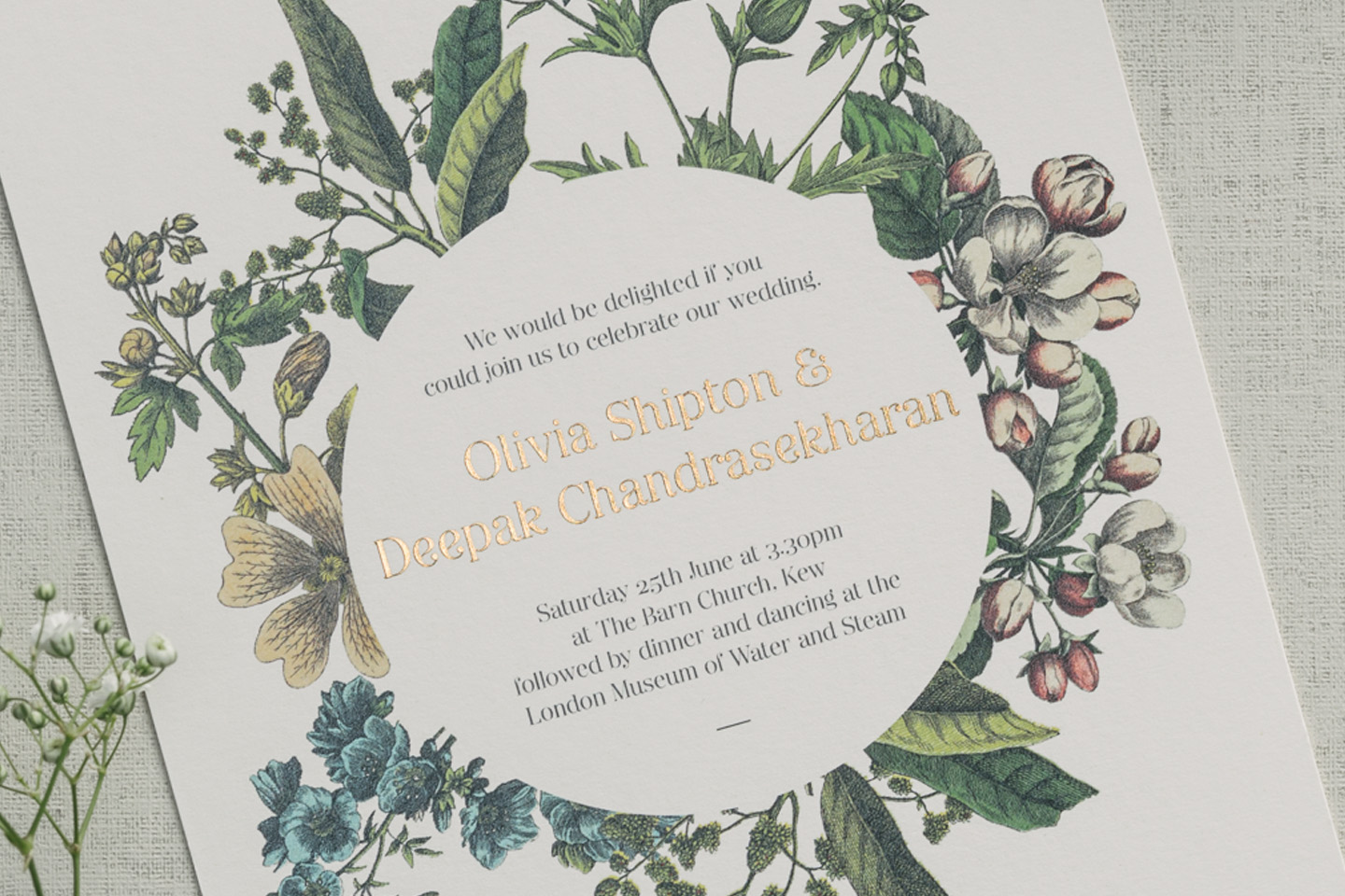 Wedding Invitation Wording: How to Get it Right - Foil Invite Company