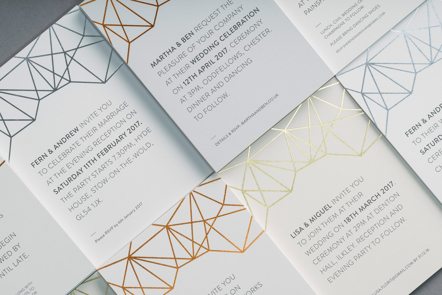 Luxury Wedding Stationery Trends 2018 | The Foil Invite Company Blog
