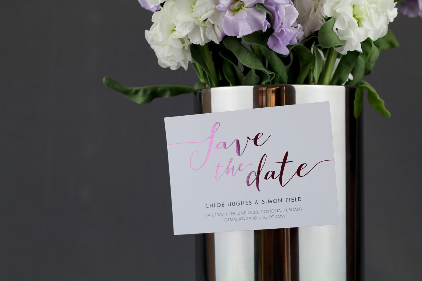 Stationery for a Wedding Abroad - An Essential Guide | Foil Invite ...