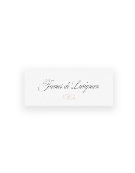 Beaumont Wedding Place Cards - Luxury Wedding Stationery by The Foil Invite Company