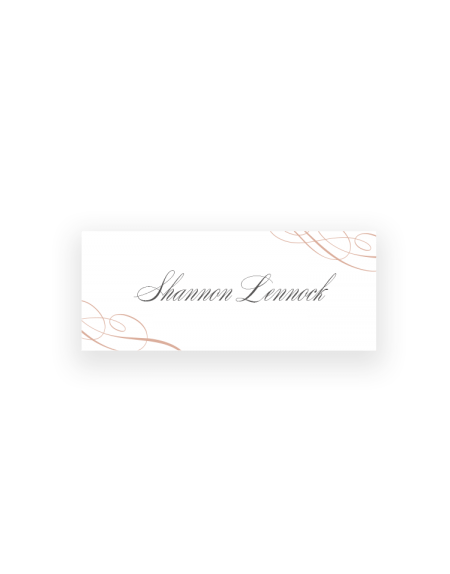 Script Wedding Place Cards - Wedding Reception Table Settings - Luxury Wedding Stationery by The Foil Invite Company