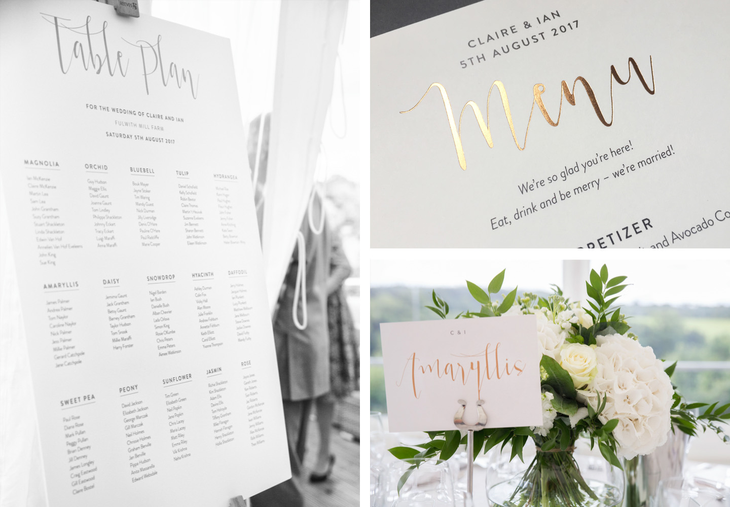 Real Wedding Stories: A Fun Wedding In Yorkshire - Foil Invite Co Blog