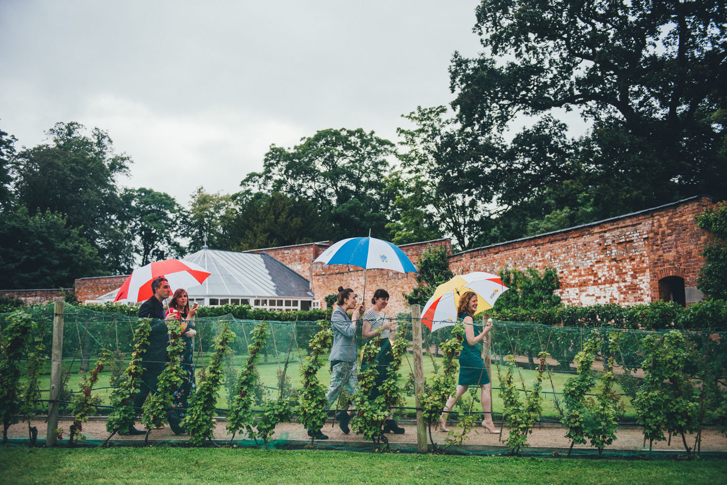 Summer Wedding Ideas - Be Prepared for All Weather with Wedding Brollies - Foil Invite Company Blog