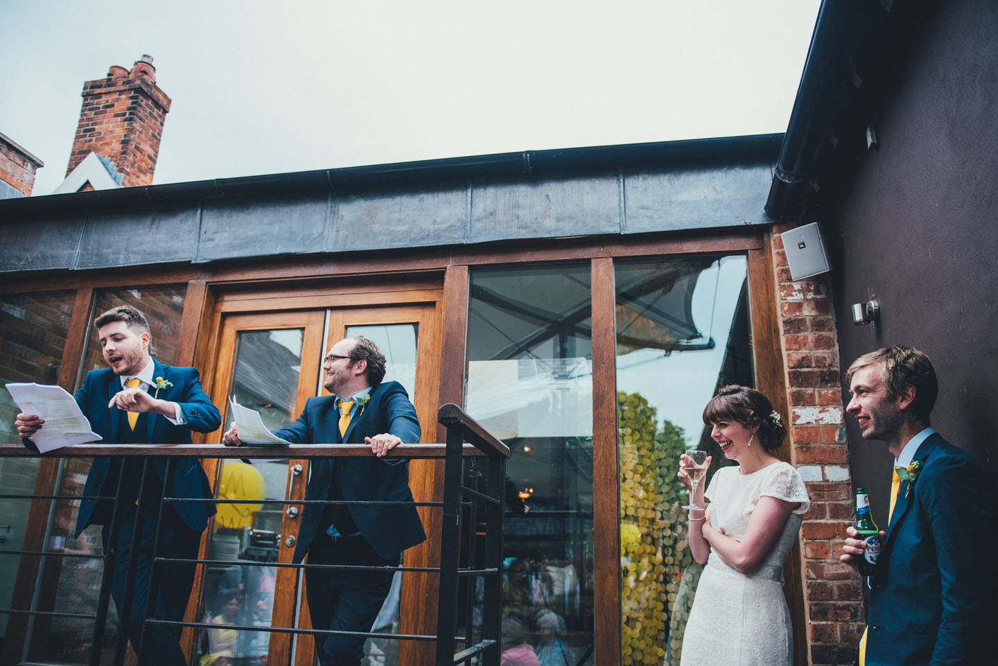 Summer Wedding Ideas - Relaxed Outdoor Speeches - Foil Invite Company Blog - Luxury Wedding Stationer