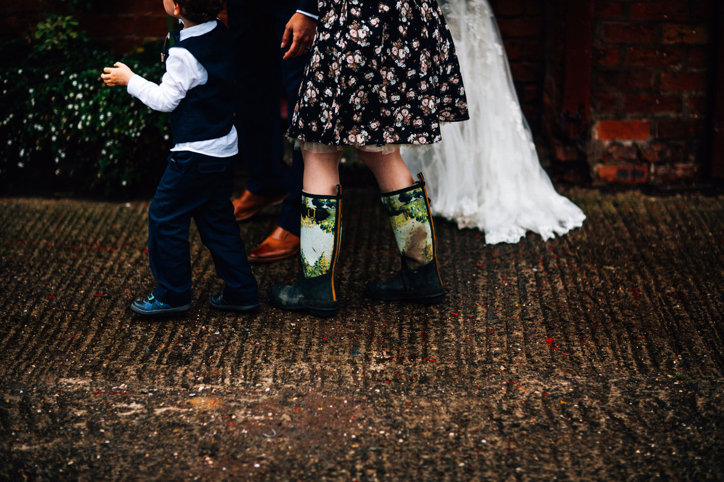 Autumn Wedding Ideas - Wellies and Brollies - Luxury Wedding Stationery by the Foil Invite Company