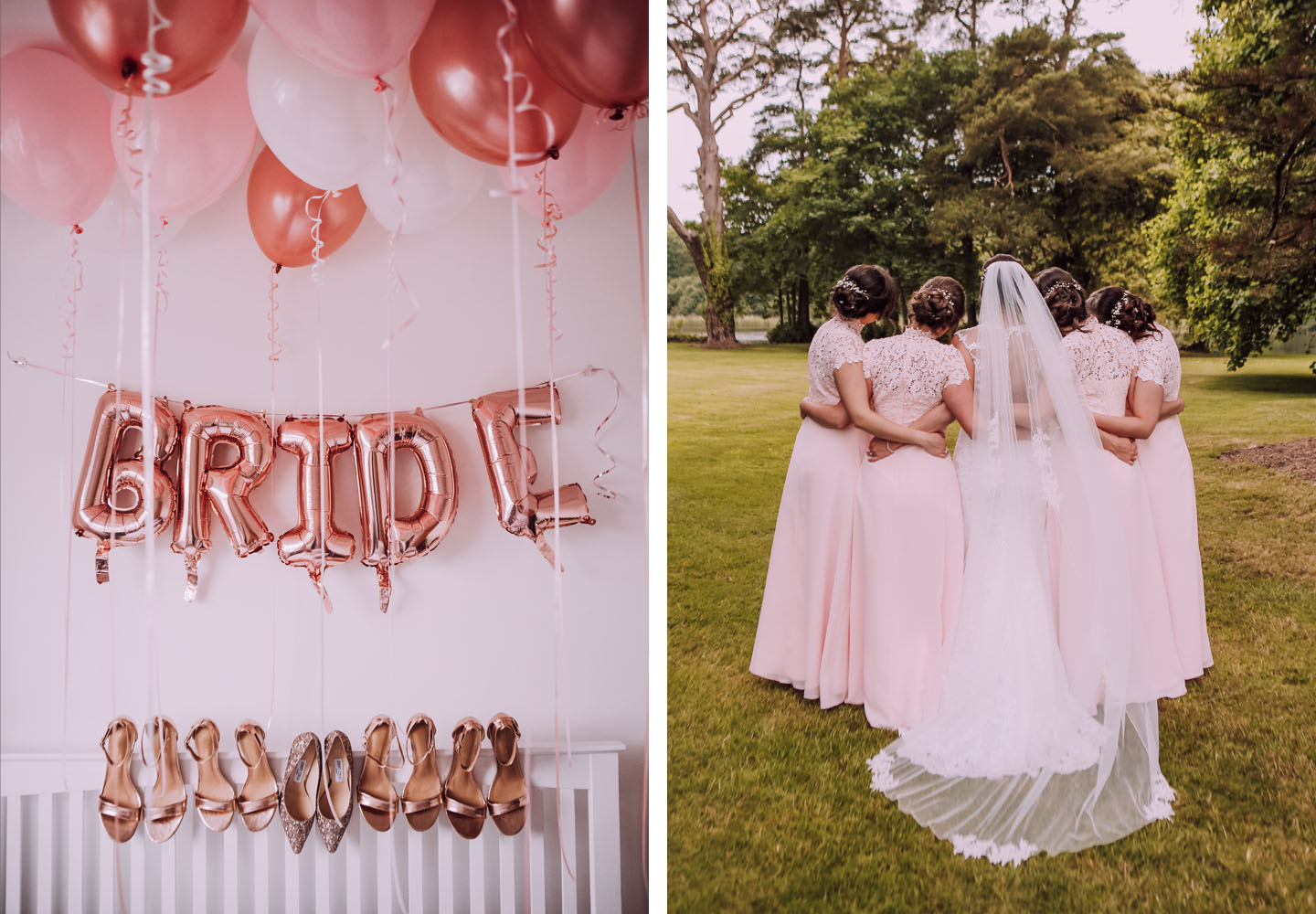 A Pink and White Wedding Colour Scheme in South Wales Blog - The Foil Invite Company