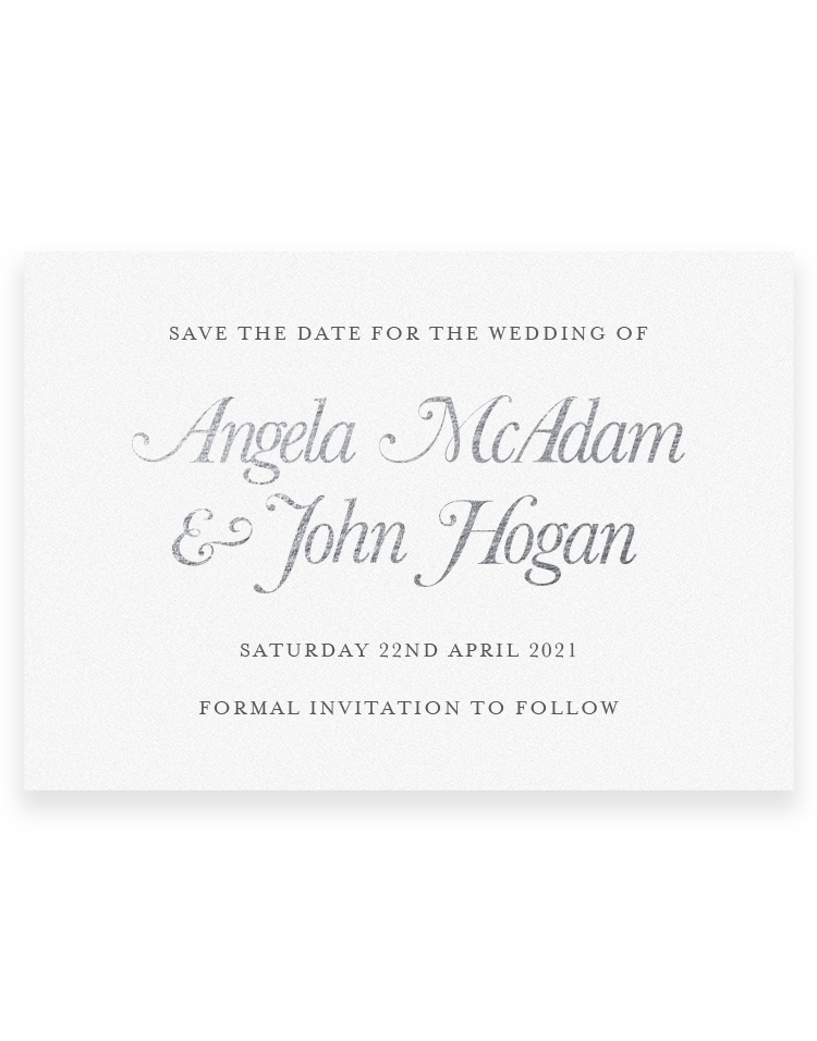 Elegance Save the Date