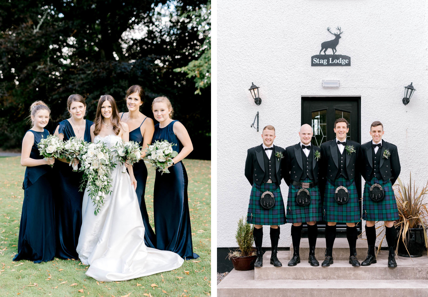 Real Wedding Stories | A Wedding in the Great Scottish Outdoors - The Foil Invite Company