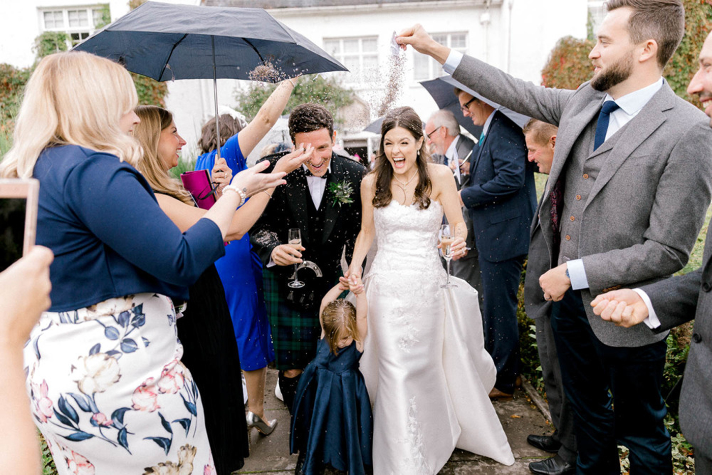 Real Wedding Stories | A Scottish Wedding in the Great Outdoors - The Foil Invite Company