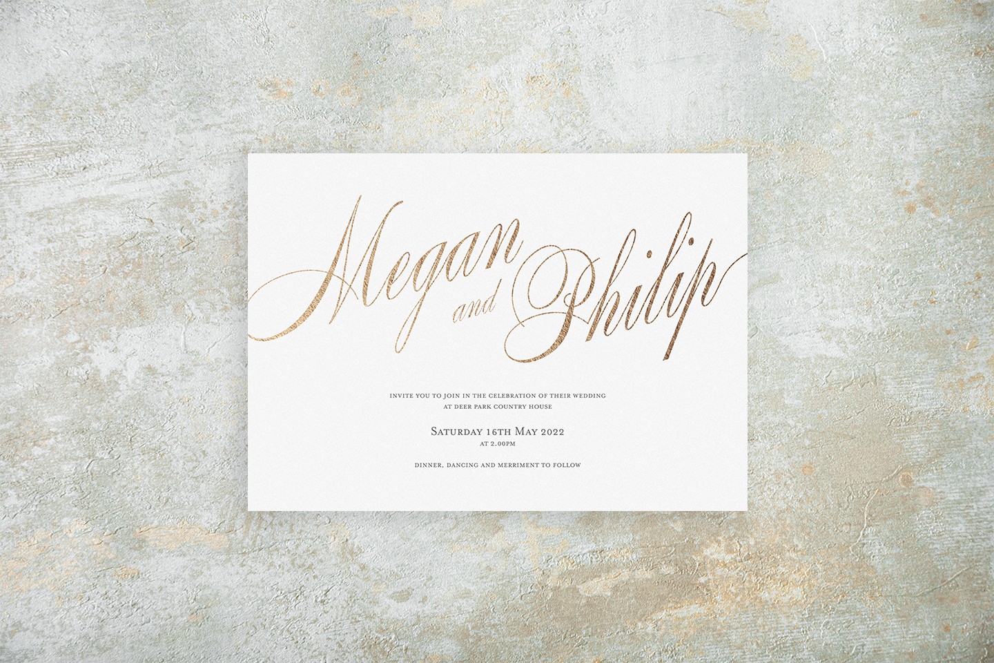 Timeless Classic Wedding Invitations - Pemberley Names | Top Wedding Stationery Trends 2020 | Foil Invite Company Blog