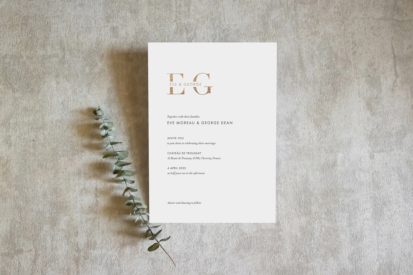 Monogram Wedding Invitations | Top Wedding Stationery Trends 2020 | Foil Invite Company Blog